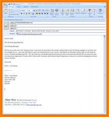 10 Resume Email Sample Letter Setup