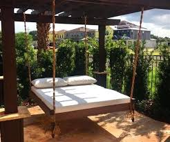 top outdoor bed swing cushions hanging beds for outdoor hanging daybed swing packed with bed