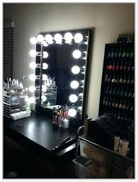 black vanity set with lights vanities black makeup vanity table set w bench black dressing for