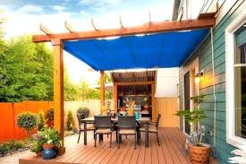 Deck covers for shade remarkable backyard awesome covered ideas home interior 14