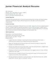 Financial Analyst Resume Interesting Financial Analyst Resume Template Andresbedoyaco