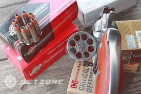 ruger redhawk 357 magnum revolver with ammo