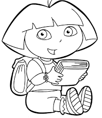 Printable pictures of dora the explorer are. Free Printable Dora The Explorer Coloring Pages For Kids