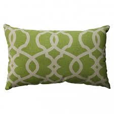 bedroom green lime decorative lumbar pillows for chair lumbar