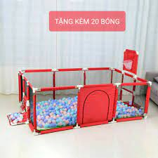 Nhà bóng cho bé, Quây bóng lều chơi bóng cho bé khung inox giá cạnh tranh