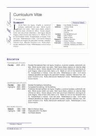 Resume Template Libreoffice Awesome Resume Wizard Word 2010 New