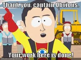 Thank You, Captain Obvious [Or: How to Write Awesome Intros]