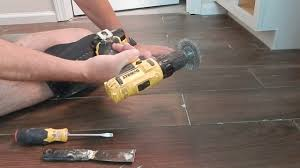 cleaning thinset from grout lines