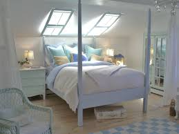 white beach bedding set for 4 posted wooden bed under white ceiling with glass sunroof bedroom white bed set