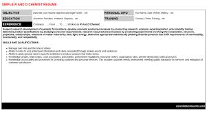 Resume Writing Examples Best Of R And D Chemist Resume Cover Letter CV Letters Resumes