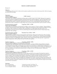 Mechanical Design Engineer Resume Sample Engineering Student