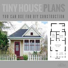 a tiny house floor plan for building your dream home without spending a fortune your