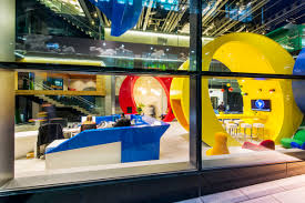 dublin office space. Office Tour: Inside The Epic Google Dublin Campus Space