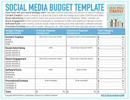 Project On Family Budget For A Month Digital Marketing Budget Template Excel Campaign Xls Online