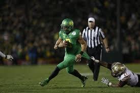 Marcus Mariota Football University Of Oregon Athletics
