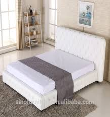 Luxury King Size Leather Queen Size Storage Bed Frame For American ...
