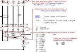 bosch 5 wire oxygen sensor wiring diagram wiring diagram