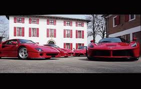Posted on september 12, 2019. Official Ferrari Test Driver Takes Four Of His Babies For Spin Driving