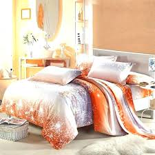burnt cherry blossom bedspread red japanese comforter orange set best beautiful intended for king plan duvet cover