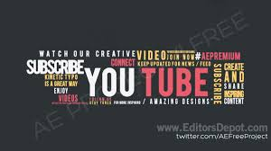 typography templates free editable intro templates free sony vegas intro template top