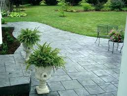 stamped concrete stamped concrete vs cost concrete patio cost stamped concrete patio cost per square with stamped concrete s