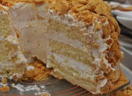 Remember my last atkins recipe for creamy this low carb cake can be made with or without the cinnamon swirl and the peanut butter crunch. Blum S Coffee Crunch Cake Crunch Cake Desserts Coffee Crunch Cake Recipe