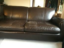 Leather Furniture Repair Before & After s Leather Pros