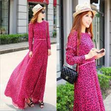 Fashion Trends Casual Maxi Dresses For Muslimah Combined With