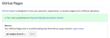 Publish Your Helm Charts On Github Pages Hidetake Iwata