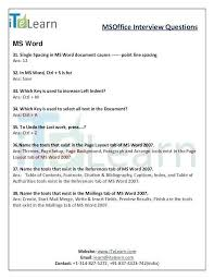 Ms Word Test Questions And Answers Excel Spreadsheet Test For Interview Best Of Excel Test Questions