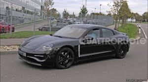 2019 Porsche Mission E Electric Car Spy Shots
