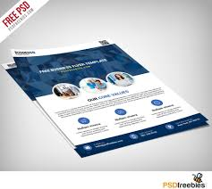 Simple Event Flyers Multipurpose Business Flyer Free Psd Template Psdfreebies On Simple