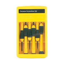 precision tools stanley. juego de 6 destornilladores precisión stanley precision tools i