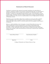 Good Moral Character Immigration Letter Epic Sample Certificate Of