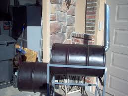 picture of how to build a barrel smoker