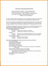 Catholic Confirmation Sponsor Letter To Candidate Letterssitecom