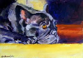 french bulldog painting sunny patch french bulldog by lyn cook