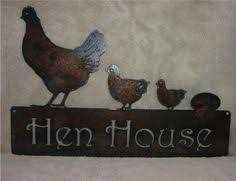 chicken wall art metal