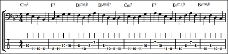 Jazz Bass Extended Arpeggios Fundamental Changes Music