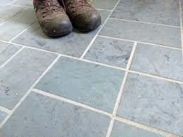 Light Gray Tile With Dark Gray Grout How To Change The Grout Color On Your Tile Floor The