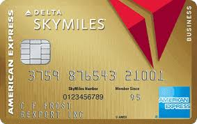 The American Express Gold Delta Skymiles Business Credit Card