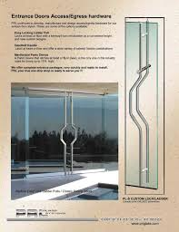 glass door patch fitting locks with or
