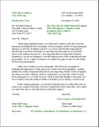 Proper Business Letter Format Gplusnick