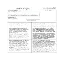 Pleading Paper Divorce Fillable Disclosure Picturesque Www