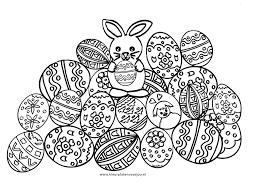 Paashaas Met Eieren Kleurplaat Kleurplaten Voor Jou
