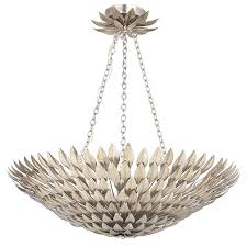 clara 30 round chandelier antique silver finish