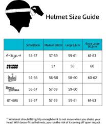 Motorcycle Helmet Measurement Chart Child Motorcycle Helmet Size Chart