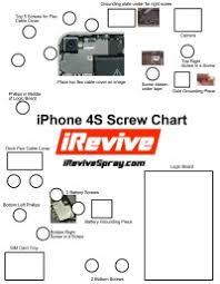 Iphone 6 Screw Chart Printable Iphone 4s Screw Chart