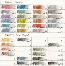 Derwent Coloursoft Color Chart Colored Pencil Color Charts Page 3 Wetcanvas