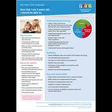 Speech Language Development Posters And Sheets 5 Year